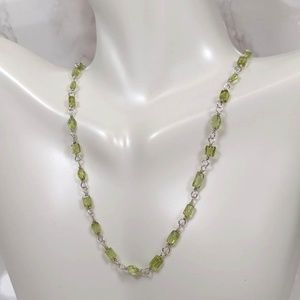 Silpada Green Peridot Necklace
